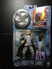 Marvel X-men The Movie SABERTOOTH Action Figure by Toybiz 2000 - still ON CARD