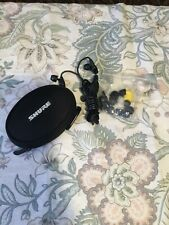 Shure SE315 Sound Isolating In Ear Monitor Earphones With Pouch And Accessories