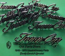 NOS 1975-1976-1977-1978-1979-1980 + LINCOLN CONTINENTAL NAMEPLATE TOWN CAR EC2B