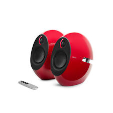 Edifier e25 Luna Eclipse Bluetooth 2.0 Speaker Set with Bass Radiators - Red