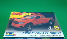 2015 Ford F-150 Raptor SVT Pickup 1:25 scale Revell SnapTite Kit Molded In Red