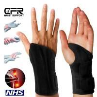 Wrist Support Strap Brace Hands Carpal Tunnel Thumb Splint Arthritis Pain Relief