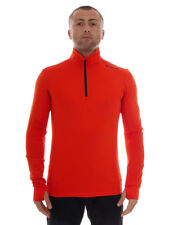 Brunotti Fleece Pullover Function Top Red Warm Terni Breathable