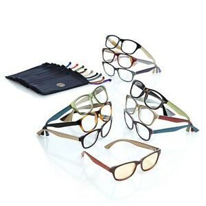 JOY 20-piece Couture SHADES Readers with Smart Lenses and Designer Frames 440108