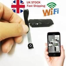 Spy Nanny CAM wireless WIFI IP Pinhole DIY small screw camera mini micro dvr UK