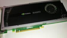 NVIDIA Quadro 4000 (2048 MB) Grafikkarte 1x DVI + 2x DP