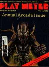 PLAY METER Magazine May 15 1980 - Annual ARCADE Issue, 8 Page Space Invaders AD