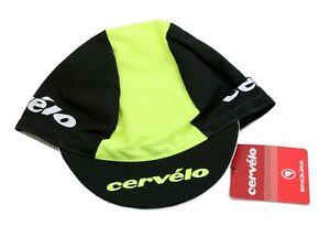 Cervelo Cycling Cap Unisex One Size Black/High-Vis Endura Hat CVL011YV/O NEW