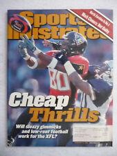 XFL CHEAP THRILLS FEBRUARY 12, 2001 SPORTS ILLUSTRATED