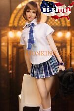 1/6 Sexy School Girl Uniform Set B For Hot Toys Phicen Female Figure ❶USA❶