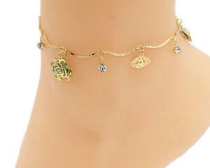 18K Gold Plated colorful High quality anklet women's anckle bracelet anklet,ankl