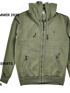 New Mens Pearly King Draft Khaki Hoodie  Size XL £49.99 Or Best Offer RRP £102