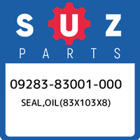 09283-83001-000 Suzuki Seal,oil(83x103x8) 0928383001000, New Genuine OEM Part