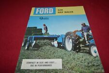 Ford Tractor 520 Hay Baler Dealers Brochure AMIL15
