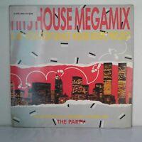 """Various – Hits House Megamix (Vinyl 12"""", Maxi 33 Tours)"""