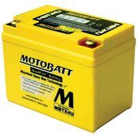 Motobatt Battery For Honda MSX125 Grom 125cc 2014