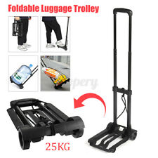25KG Foldable Travel Luggage Shopping Hand Sack Truck Barrow Cart Wheel Trolley