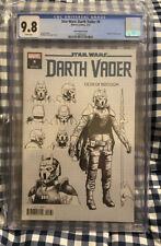 Star Wars: Darth Vader 8 CGC 9.8 NM/MINT Raffaele Ienco 1:10 Design Variant