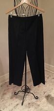 Escada Black Ladies Women's Pants Size 36 Wool Mix  10 in Dress/Casual
