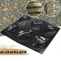 Casts Master Pebbles Concrete Mold Step Stones Plaster Cobblestones Mould X2J0