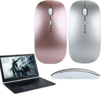 3D USB Slim 2.4 GHz Optical Wireless Mouse Mice  + Receiver For Laptop PC Mac