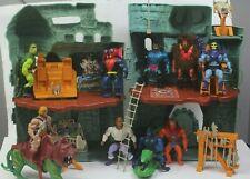 MOTU Castle Greyskull He-Man Bundle Battlecat Figures Accessories Vintage