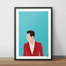 Panic! At The Disco / Brendon Urie INSPIRED WALL ART Print / Poster A4 A3