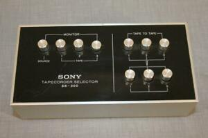 VINTAGE SONY SB-300 TAPECORDER TAPE DECK SELECTOR SWITCH BOX
