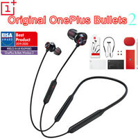NEW OnePlus Bullets 2 Wireless magnetic control Google Assistant 5 6 6T 7 Pro 7T