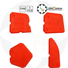 SILICONE SIGILLANTE Spatola Rifinitura Tool Kit 4pcs Yato YT-5261