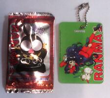 Ranma 1/2 Hanging card - Shampoo - Version green  - fastner - mascotte - keyring
