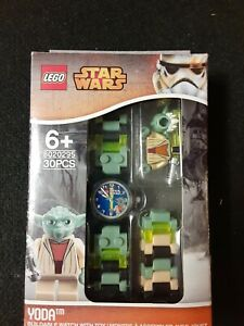 NEW! Star Wars Yoda LEGO Buildable Watch#8020295 Sealed In Original Packaging D3