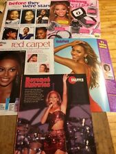 Beyonce, Lot of FIVE Full Page Clippings