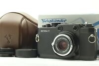 [MINT & VC-1 Case] Voigtlander Bessa-T + Color Skopar 35mm F2.5 From Japan #150