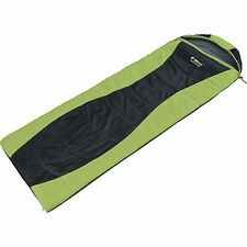 OZTRAIL TRAVELLER 300 HOODED- 5Cel  SLEEPING BAG - GREEN