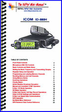 Icom ID-880H Nifty Quick Reference Guide, ID880H