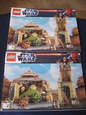 Lego STAR WARS 9516 ~ Jabba's Palace ~ Instructions ONLY!!!! Two Booklets