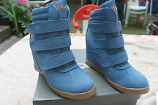 Shoe - Sneaker Lpb : the Small Bombs T.38 Sky Blue New Leather