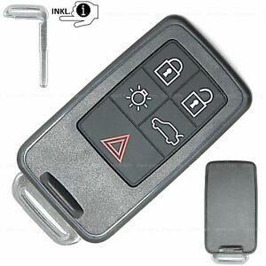 Keyless Go Schlüssel Gehäuse für Volvo V70 V60 S60 S80 XC60 XC70 V40 S90 XC90 V9