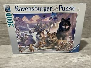 """Ravensburger 16012 Wolves 2000 Piece Puzzle- 29.5""""x30.5"""" Free Domestic Shipping!"""