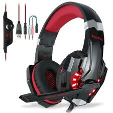 EasySMX Micro Casque PS4 Gaming, Audio Stéréo Basse avec LED lumière, Gaming...