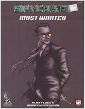 Spycraft - Most Wanted supplement (Spycraft d20 Modern RPG) *NEW*