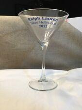 Ralph Lauren Takes Hollywood 2012 martini glass