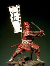 Pegaso Models 54mm Samurai Warrior Azuchi Momoyama Period White Metal Kit 54-112