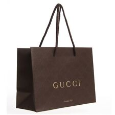 Gucci Brown Paper Gift Bag W3 - Get Your Little Brown Bag Now