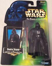 Star wars el poder de la fuerza sería Arth Vader, sable de luz y capa' 1995 Kenner