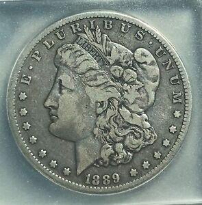 1889-cc Morgan dollar , nice original, Very fine , scarce