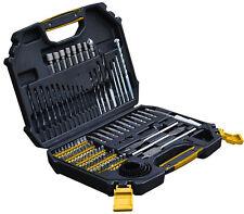Builders Brand Drill Bit Set 110PCS Screwdriver Wood Masonry Metal Tool Kit