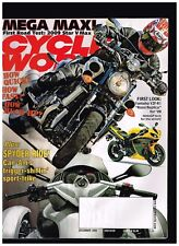"""CYCLE WORLD DECEMBER 2008 STAR V MAX YAMAHA YZF-R1 """"ROSSI REPLICA"""" CAN-AM SPIDER"""