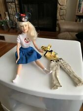Disney 50th Anniversary Barbie Mickey Mouse Mouseketeer's W Clothes 1998-99